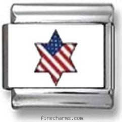 American Flag Star of David