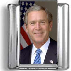 George W. Bush Photo Charm